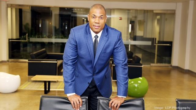 George Foreman Jr., the son of two-time world champion boxer George Foreman, has signed a three-year agreement with the Sacramento Business Journal to present the annual TechEdge Conference.