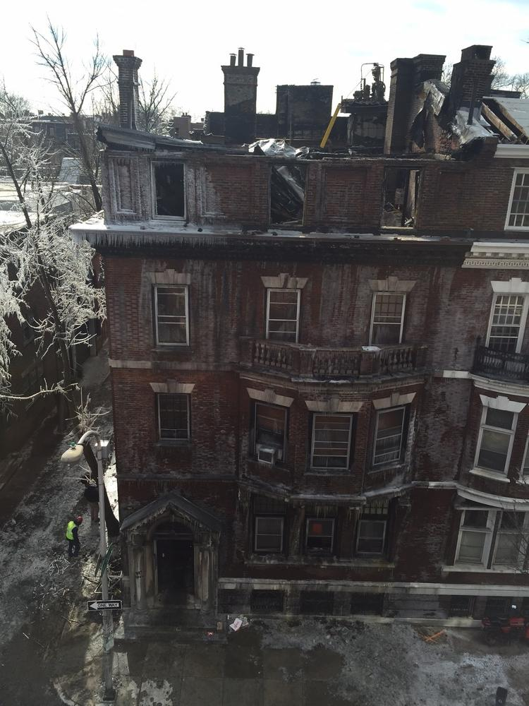 New life for 2122 Locust St  after the fire - Philadelphia