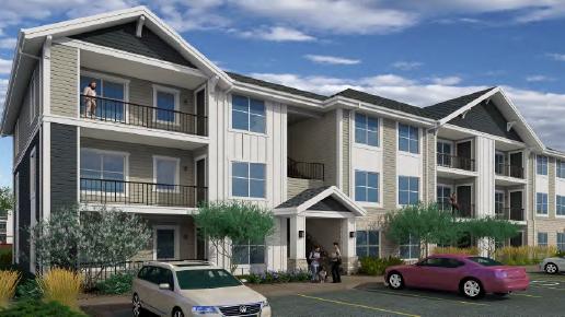 New Brick Stone Apartments coming near Denver airport