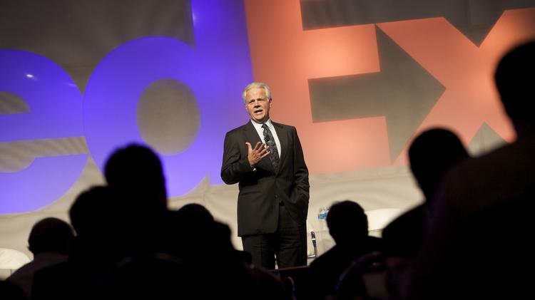 Michael Ducker joined FedEx in 1975 and rose through the ranks from cargo handler to president and CEO of FedEx Freight