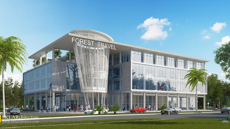 ae979c19d54 Forest Travel is building a new headquarters at 2420 N.E. 186th St. in  Miami.