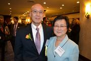 Honoree Ryan Yu, president of Daly Computers Inc., with his wife, Margaret Chao, at the 2013 Minority Business Leader Awards.
