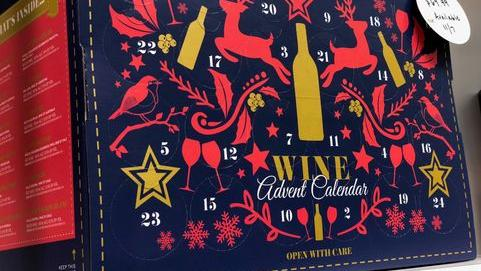 Aldi will sell wine Advent calendars in the U.S. this holiday season