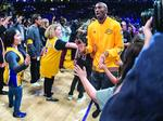 Kobe Bryant's last game with the Lakers