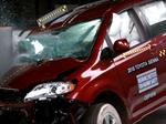 Toyota Sienna crash