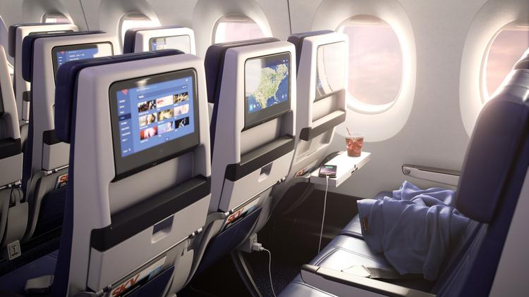Delta fully committed to seat-back video screens - Chicago Business