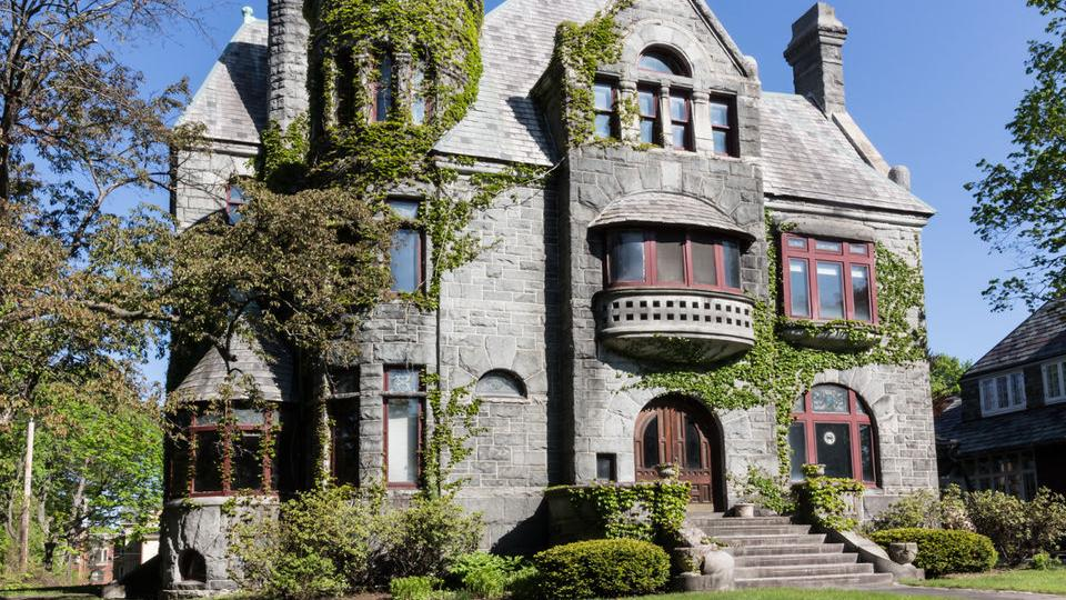 Albany Castle Overlooking Washington Park For Sale For