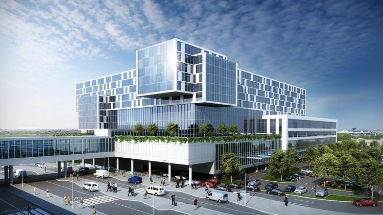 A Rendering Of The Intercontinental Hotel At Hartsfield Jackson Atlanta International Airport