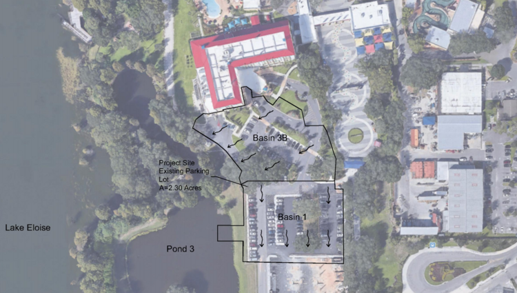Site of the new proposed hotel