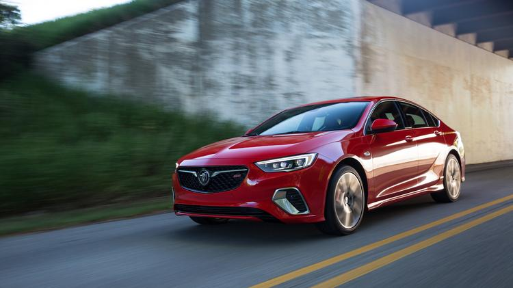 automotive minute: 2018 buick regal gs is this generation's monte