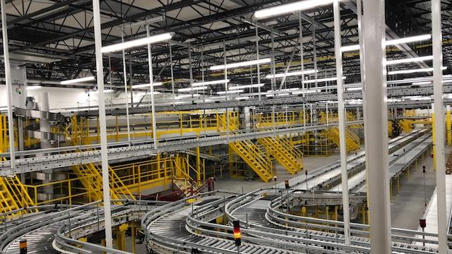 A look inside Amazon com's new Sparrows Point fulfillment