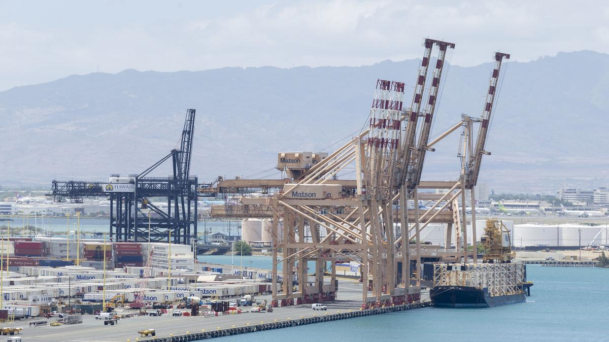 Port Of Honolulu >> Damage To Honolulu Harbor Could Cause Statewide Cargo Disruption For