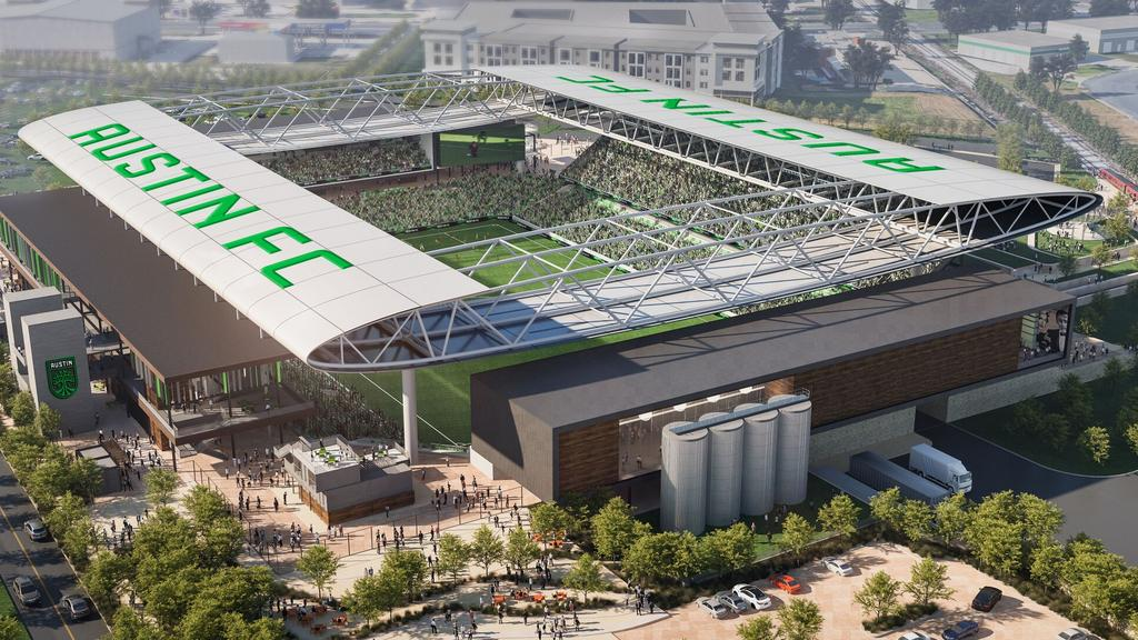 Dallas company tapped to build Austin's $240M Major League Soccer stadium