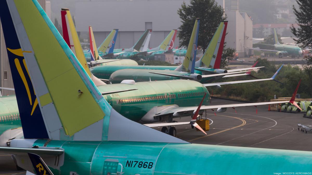 Resultado de imagen para Boeing 737 max assembly line Kansas