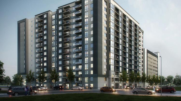 The development is valued at about $107 million.