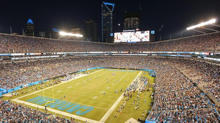 new concept 71a3f a0a33 Carolina Panthers to be featured on sports documentary ...