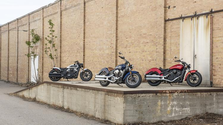 Indian Motorcycle, founded in Springfield, unveils 2019