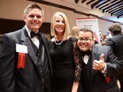 Travis and Jennifer Miller and Jimmy Vee of Gravitational Marketing.