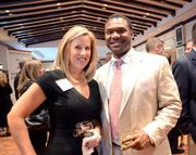 Leslie Carroll of Florida Capitol Bank and Milton Carroll of City National Bank.