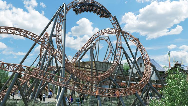 Carowinds plans largest expansion ever with new roller coaster, dorm