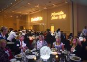 Guests continue to mingle before the start of the awards event.