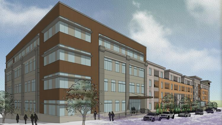 City Station North, $40 million-plus apartments, offices