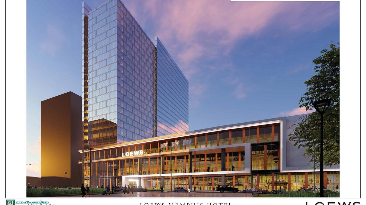 City Of Memphis Loi With Loews For Downtown Convention