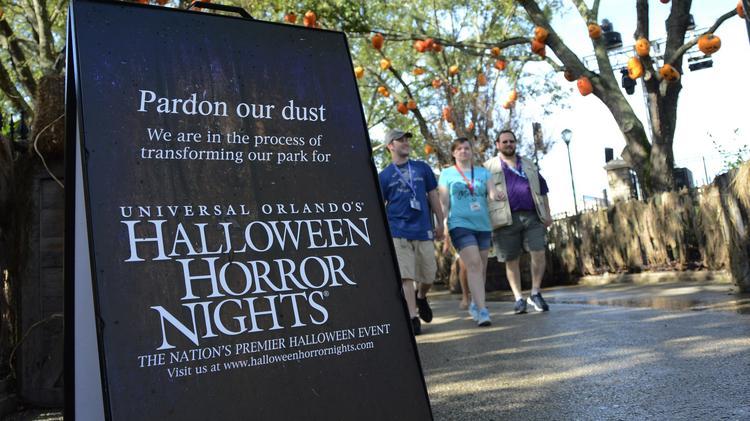 Universal Studios Halloween Horror Nights 2019.Florida Theme Park Partners With Netflix Show Strangers Things Again