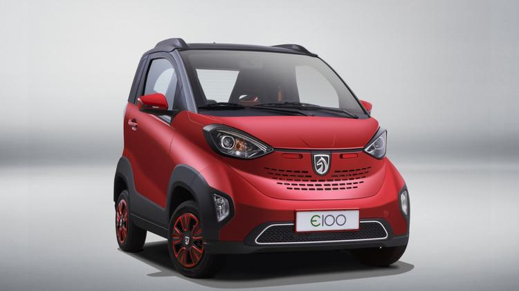 General Motors Baojun E100 An All Electric Vehicle Sold In China With A