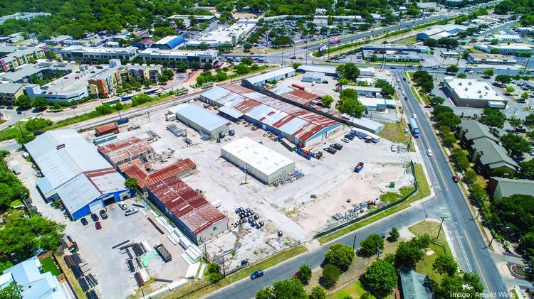 Mixed-use development may replace warehouses at Justin Lane