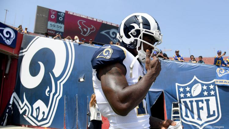 Brandin Cooks of the Los Angeles Rams helped the franchise earn a Super  Bowl appearance during f3a7b7820