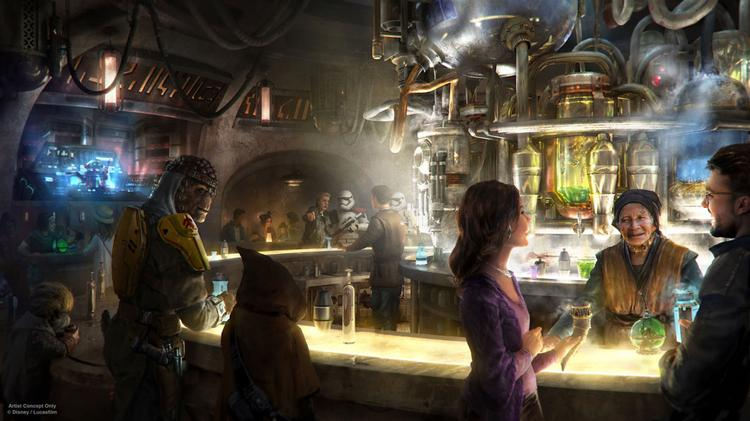 Oga S Cantina Will Serve Concoctions Created With Exotic Ings Using Otherworldly Methods