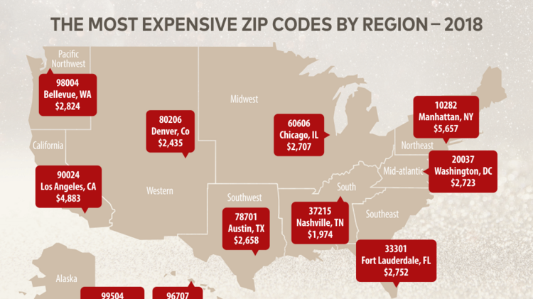 Austin's 78701 zipcode was the most expensive place to rent in the southwest in a recent report from RentCafe.