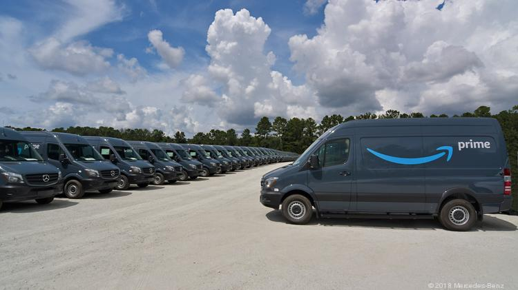 Amazon Placed An Order For 20,000 Sprinter Vans, Making It The Largest U.S.  Customer Of