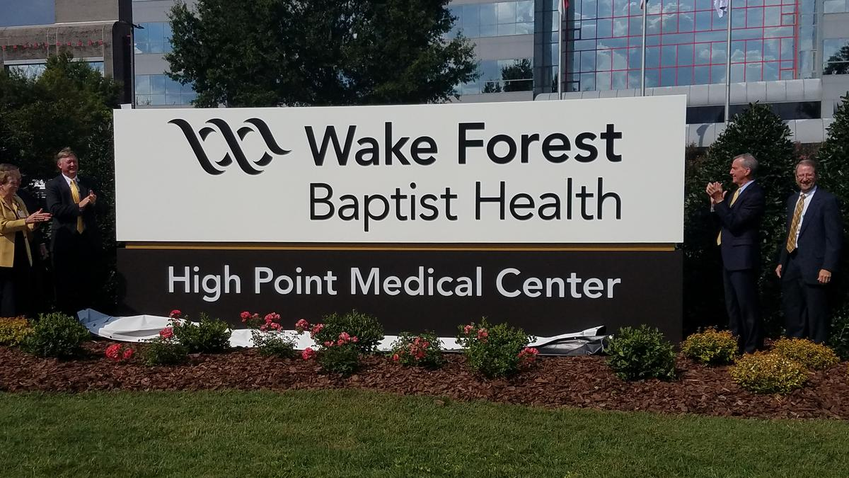 Wake Forest Baptist Health unveils High Point Medical Center