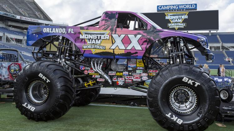 Monster Truck Show 2020.Orlando To Host Monster Jam Marquee Event In 2019 2020