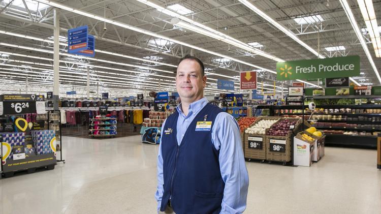 Walmart Executive Brent Rains