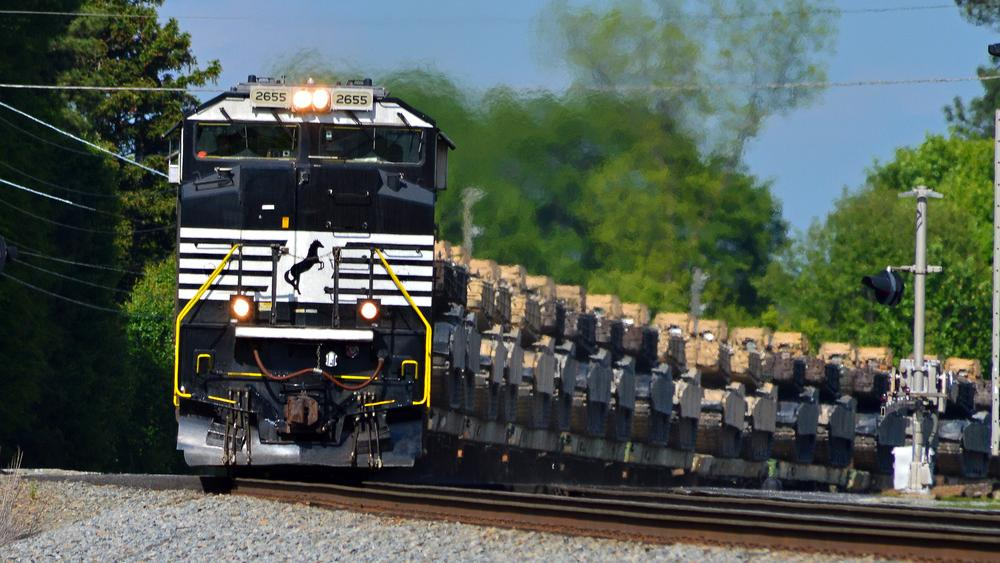 The Latest: Norfolk Southern clearing derailed freight cars
