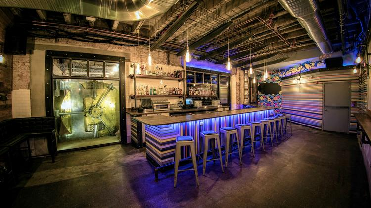 The 1,000 Square Foot Kontrol Will Be Standing Room Only With Bar Stools.