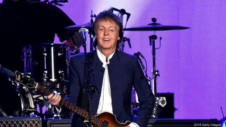 Paul McCartney's Phoenix show one of his highest priced