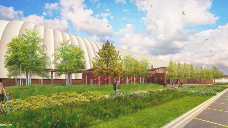 National Sports Center in Blaine wants to build a 110-foot tall dome