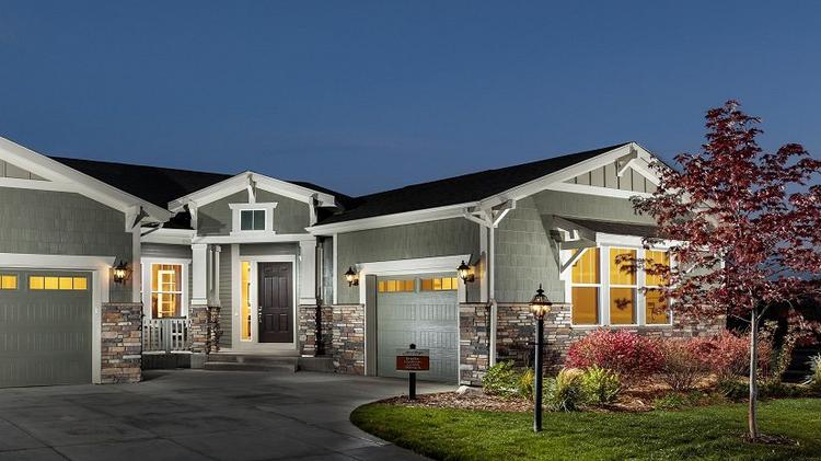 The Irwin from the Legends collection at Heritage Todd Creek, starting at $634,900.