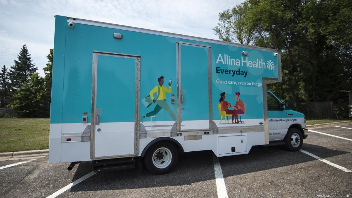 Allina Health mobile van