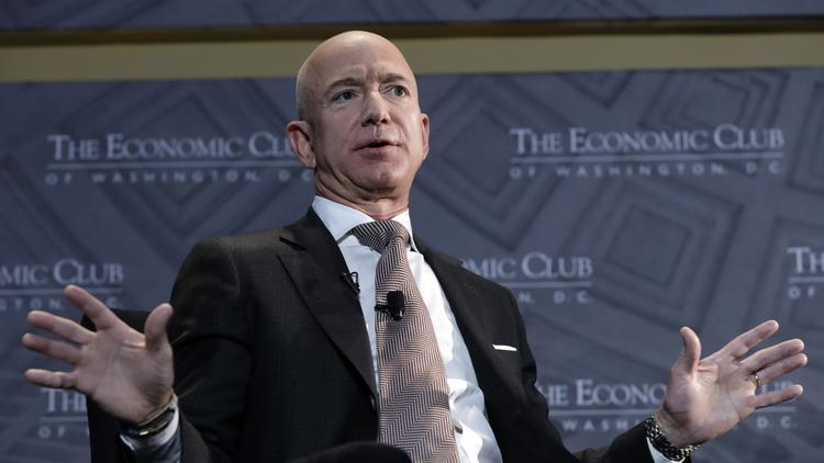 Jeff Bezos Talks Amazon Hq2 To Economic Club Washington Business