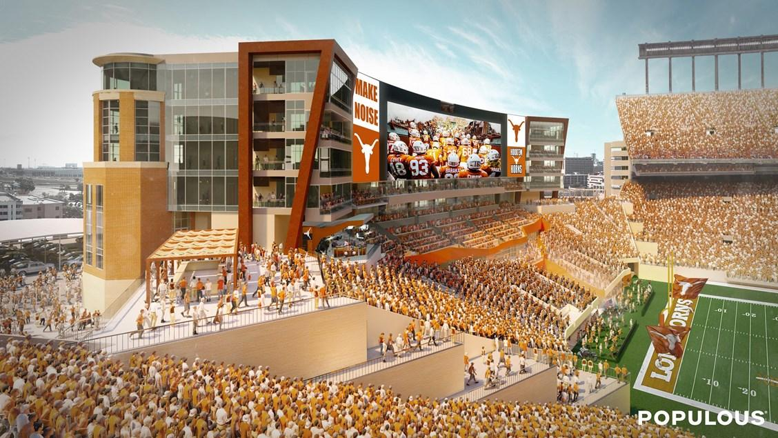 First Look More Details Of Ut S 175m Football Stadium Expansion Austin Business Journal