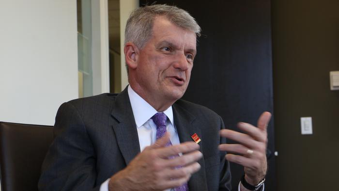 Wells Fargo CEO calls reports of his pending departure 'just not true'