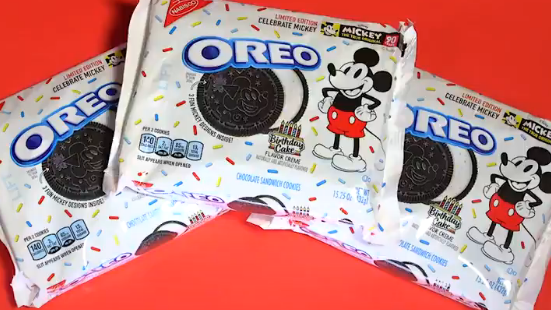 Image result for mickey mouse oreo