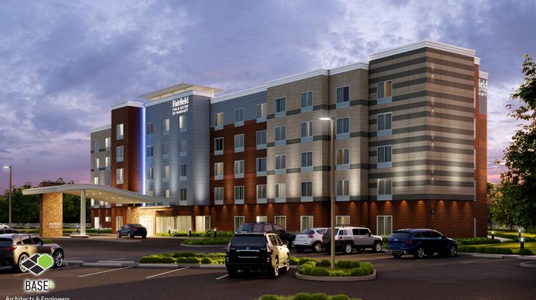 new 121 room fairfield inn suites planned in new albany columbus rh bizjournals com
