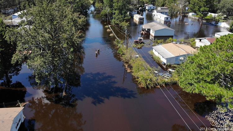 north carolina town sues csx for hurricane florence flooding