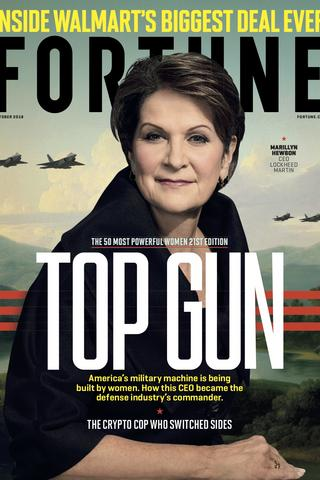 Lockheed Martins Marillyn Hewson Tops Fortunes List Of Most Powerful Women In Business